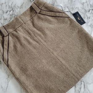 British khaki pencil skirt size 4
